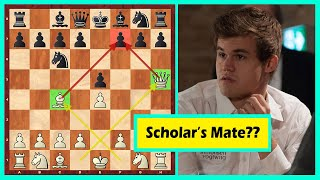 """Hahaha! Carlsen's Opponent """"Decided"""" To Checkmate Him In 4"""