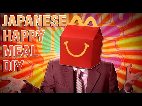 JAPANESE HAPPY MEAL DIY | TDM Vlogs Episode 27 - TheDiamondMinecart  - QF3nxc28TLE -