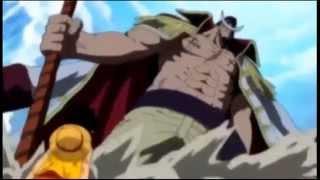 ¡Luffy Reta A Shirohige!
