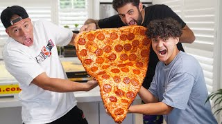 I Ate The World's Largest Slice Of Pizza
