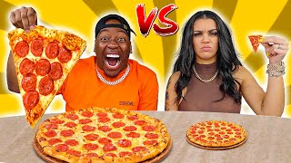 GIANT VS TINY FOOD CHALLENGE