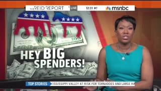 MSNBC'S THE REID REPORT - SUNLIGHT DATA ON MCCUTCHEON AND 2012 ELECTIONS