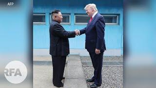 Tổng thống Mỹ Donald Trump gặp Kim Jong Un trên lãnh thổ Bắc Hàn