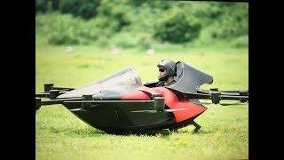 Smallest Flying Sports car -Koncepto Millenya-