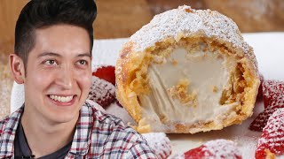 Deep Fried Ice Cream: Behind Tasty