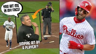 Player Throws Glove At Umpire's FACE And Gets Ejected! Bryce Harper Homers For His Son (MLB Recap)