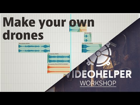 VH WORKSHOP: How to make your own audio drones, pads & atmospheres.