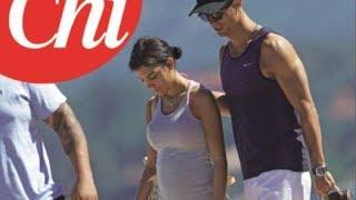 Cristiano Ronaldo y Georgina Rodríguez seran padres de gemelos