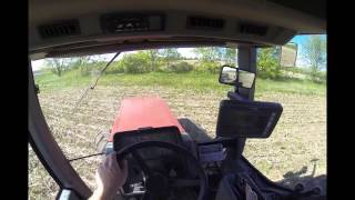 Planting soybeans & how to use auto steer 5-22-15