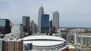 North Carolina: Phantom 3 Aerials Above and Around Charlotte's Spectrum Center
