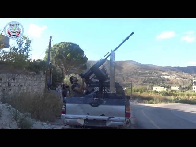 Союзники великих укров в Сирии пытаются бороться с авиацией РФ