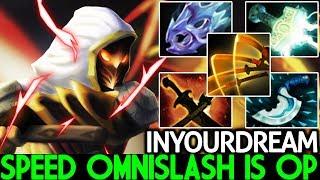 Inyourdream [Juggernaut] Speed Omnislash Build is OP Meta 7.21 Dota 2 - YouTube