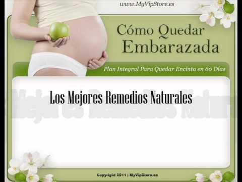 Plantas para quedar embarazada rapido
