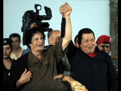 Gaddafi and Chavez: The Love and Pride of the Peo