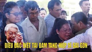 Điều đặc biệt xảy ra tại đám tang Hiệp Sĩ Đường Phố Sài Gòn