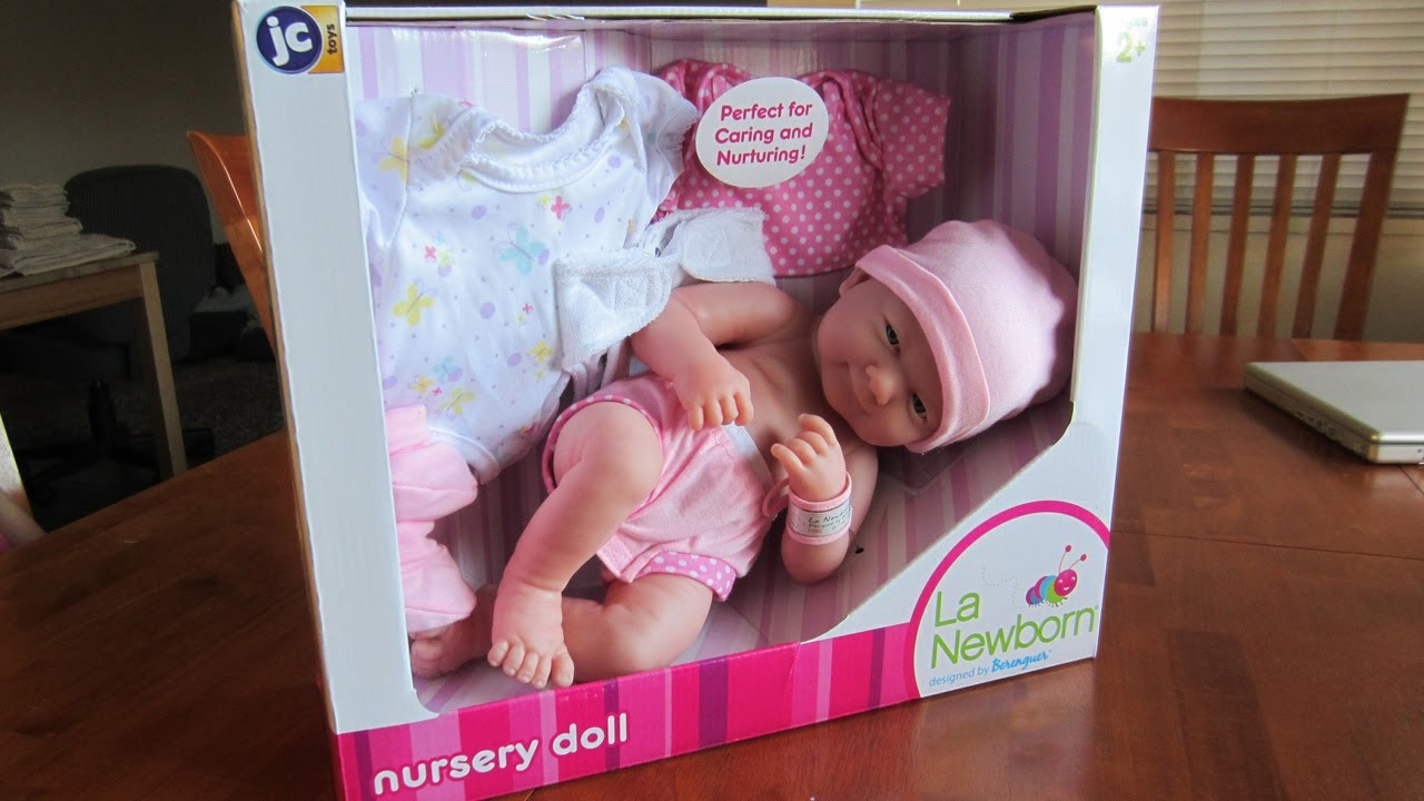 Reborn Baby By La Newborn Baby Doll By Berenguer Youtube