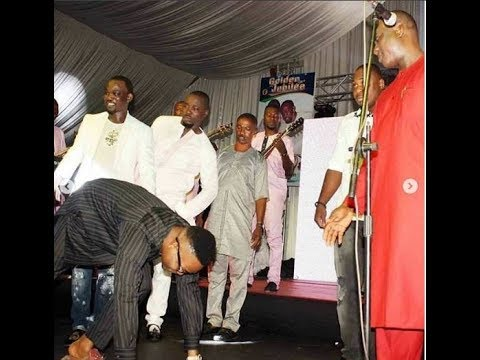 Olamide Storms The Stage As He Prostrate For K1 De Ultimate At Pasuma's  Birthday Party