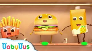 Bộ sưu tập Hamburger và Khoai tây chiên | Tuyển tập hoạt hình - Bài hát thiếu nhi hay nhất | BabyBus