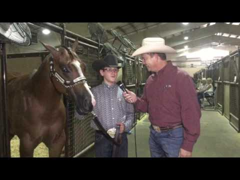 AQHA's Craig Huffhines Meets Say Grace