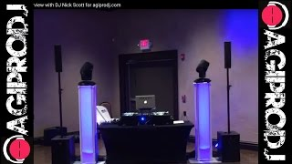 RCF EVOX 8 V2 COMPACT VERTICAL ARRAY  Speaker System in action