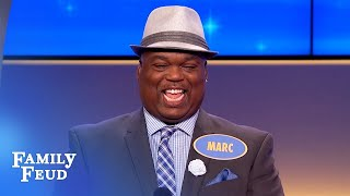 Must-see moment! I'd suck that poison out of you. BUT...   Family Feud