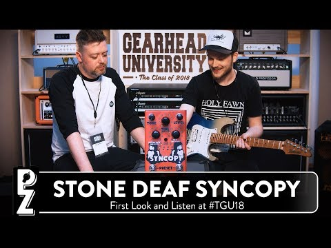 Stone Deaf FX Syncopy Delay Pedal
