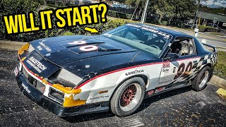 Rebuilding An Abandoned Chevy Camaro Z28 1LE Race Car In 2 Days