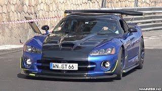 BEST of Dodge Viper Exhaust Sounds - BRUTAL American V10 Sounds!