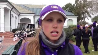 LSU golfer Elise Bradley on a roll in 2014-15: Video
