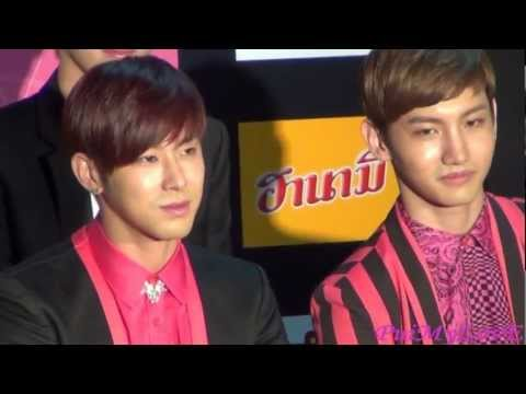 121125 SMTown in BKK Press Conference - Yunho Cut