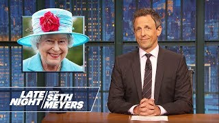 Trump Derangement Syndrome, Queen Elizabeth's Broach - Monologue