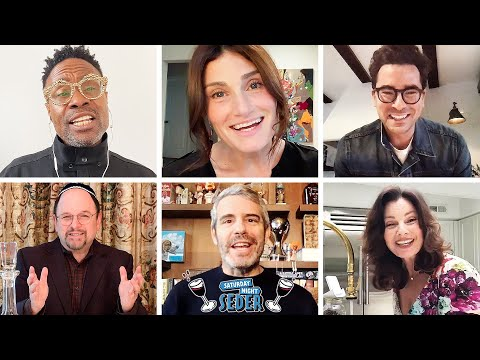 Saturday Night Seder, a star-studded virtual Passover Seder that raised more than $2.35 million for the CDC Foundation's Coronavirus Emergency Response Fund.