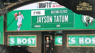 Jayson Tatum Wanted To Be Drafted By The Suns Before Celtics Picked Him | ALL THE SMOKE | SHOWTIME