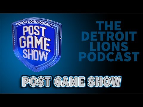 Detroit Lions Podcast: Detroit Lions - Arizona Cardinals Live Post Game Show