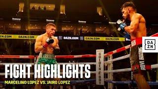 HIGHLIGHTS   Marcelino Lopez vs. Jairo Lopez
