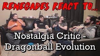 Renegades React to... Nostalgia Critic - Dragonball Evolution