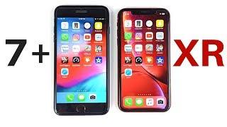 iPhone 7 Plus vs iPhone XR Speed Test!