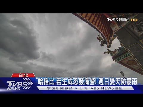 哈格比颱風最快明天生成! 逼近台恐發海警│20200801 #TVBS
