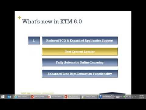 What s New with KTM 6.0