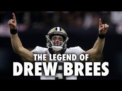 The Legend Of Drew Brees