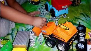 new baby Car toys Gaming Truck Bus Cover Van বাচ্চাদের মজার খেলনা গাড়ির ভিডিও