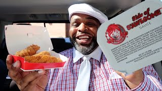 Wendy's Chicken Tenders with S'Awesome Sauce