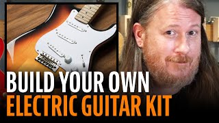 Watch the Trade Secrets Video, Build Your Own Electric Guitar Kit