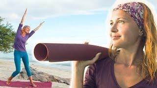 """Йога для начинающих """"Плавность и подвижность"""" (часть 2)   Yoga for Beginners"""