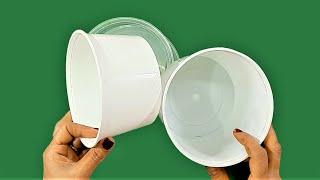 3 Useful Things You Can Make Out Of Waste Plastic Container and Bottle !!!