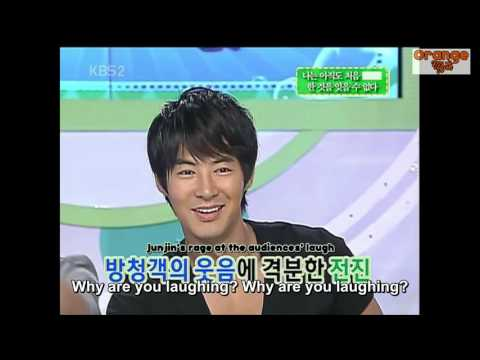 [ENG SUB] Junjin talks about his first kiss - Part 1