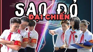 SAO ĐỎ ĐẠI CHIẾN - Sức mạnh của Sao Đỏ 2 | Hậu Hoàng | COMEDY MUSIC VIDEO