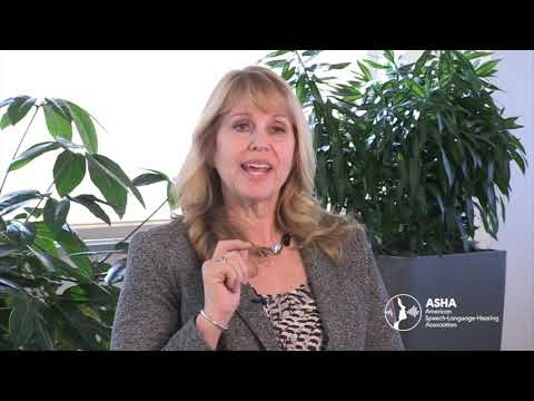 ASHA President Discusses Early Identification of Communication Disorders
