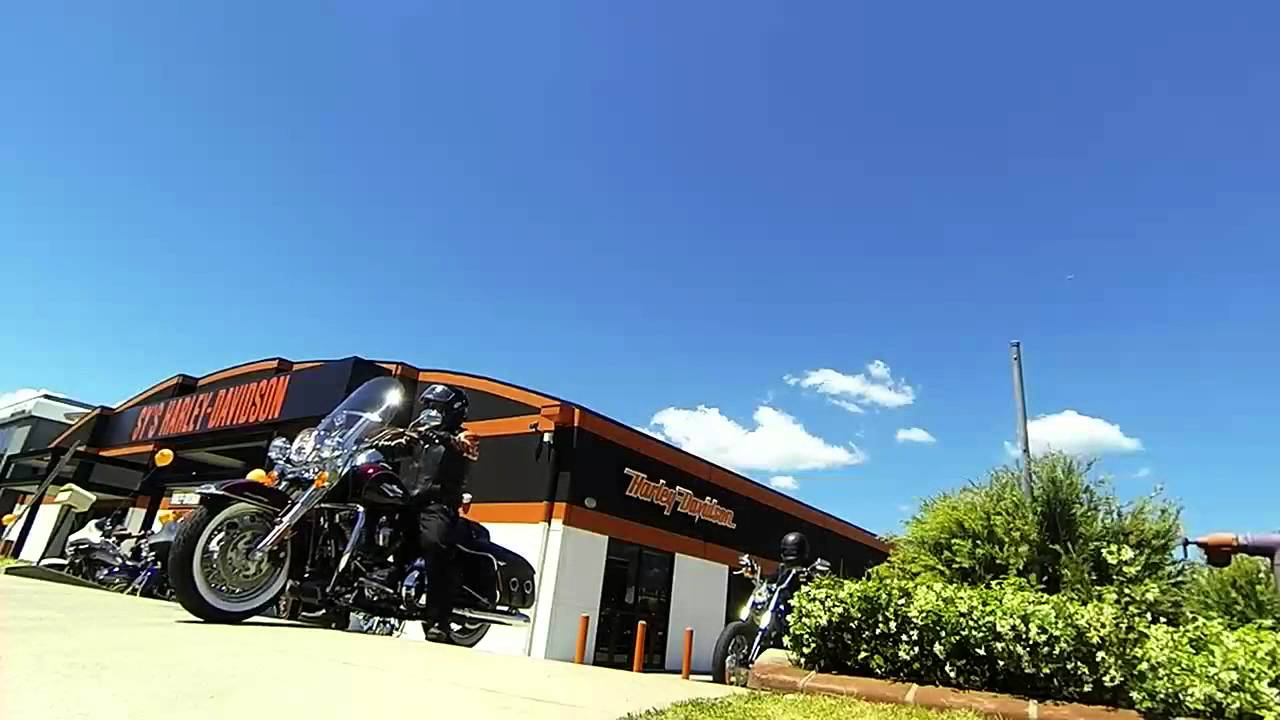 Harley-Davidson test ride day at Sy's in Sydney