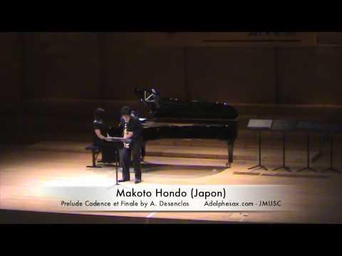 3rd JMLISC: Makoto Hondo (Japon) Prelude Cadence et Finale by A. Desenclos